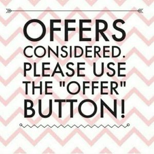 Don't be afraid to make an offer!